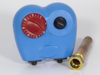 потопяем двоен термостат със защита