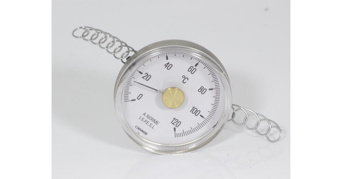 контактен термометър с пружина