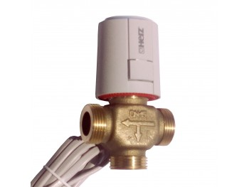 Трипътен вентил HERZ CALIS за термостатна работа с ел. задвижване